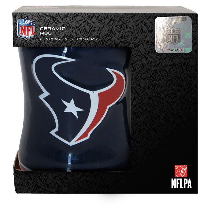 NFL Houston Texans Boxed Relief Mug
