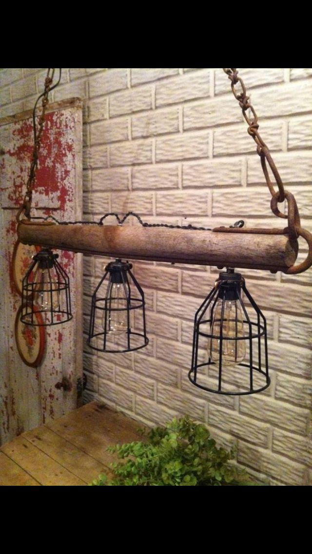 primitive lighting ideas. i love the idea of having lights on a yoke to hang over kitchen island what type light covering use want something different like wire bird primitive lighting ideas t