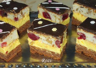 Rozi Erdélyi konyhája: Fantasztikus sütemény