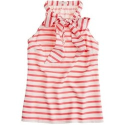 Silk bow cami - Jcrew: Crew Stripes, Bows Cami, Clothing, J Crew, Style Inspiration, Summer Outfits, Jcrew Silk, Stripes Bows, Silk Bows