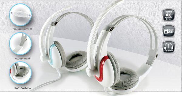 CLiPtec Stereo Multimedia Headset 'Coordinator-Beat' BMH695 -- Hanya RP. 117.000,-