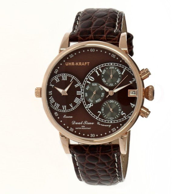 Fancy - Uhr-Kraft Dualtimer Watch