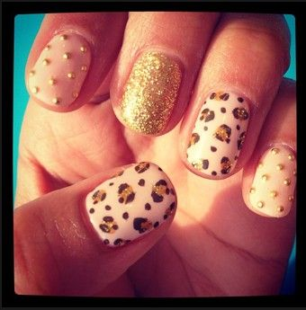 Love these nailsPolka Dots, Nude Nails, Cheetahs Nails, Nails Art, Pink Nails, Leopards Prints, Animal Prints, Leopards Nails, Cheetahs Prints