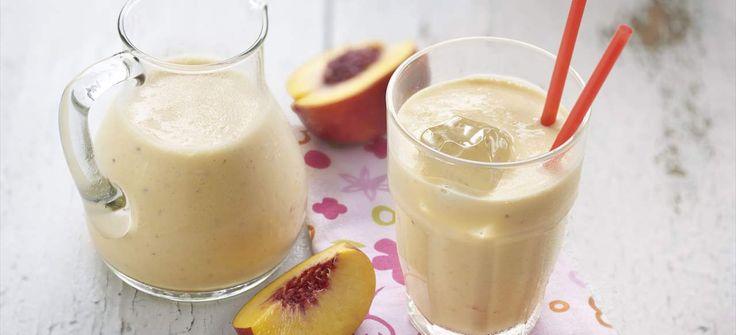 Smoothie de nectarina (batido de yogur y nectarina)