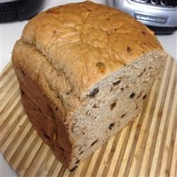 Cinnamon Raisin Bread (bread machine) turned out great just as the recipe promises! I added 1 extra tablespoon of cinnamon, glad I did.