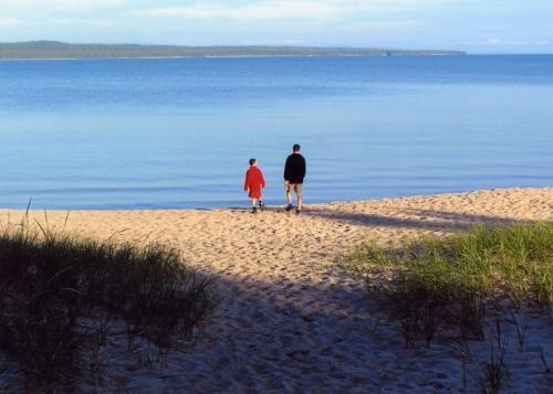 Beaches at Pancake Bay Provincial Park. A beautiful, wide, sandy bay on Lake Superior, just North of Sault Ste. Marie. To check out other Ontario beaches: http://www.summerfunguide.ca/03/parks-beaches-gardens.html #summerfunguide #thingstodoinontario