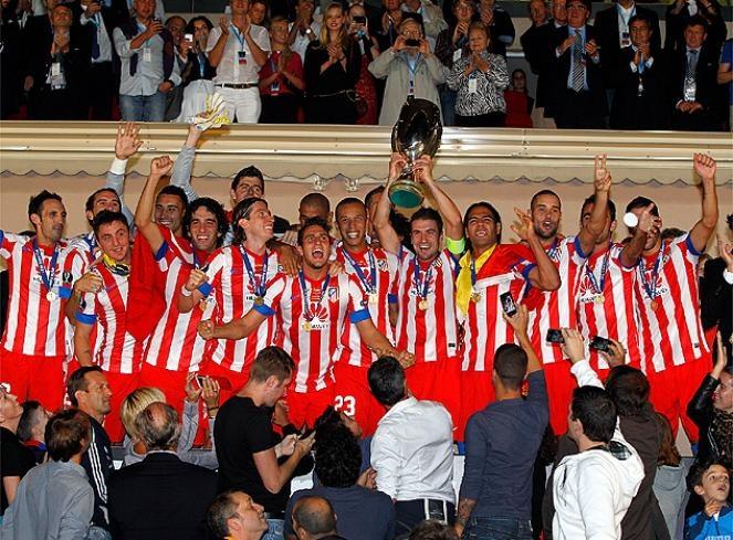 Atletico de Madrid campeón de la supercopa de europa 2011-12