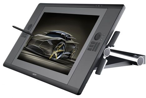 Wacom Cintiq 24HD announced on my birthday a couple weeks ago. I have a Cintiq already and I never use it, but this one is so gorgeous that its tempting me. $2500.