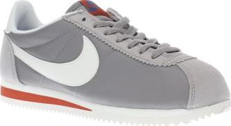 Nike Light Grey Cortez Nylon Premium Womens If timeless classics are your thing, you might want to get your hands on the Nike Cortez Nylon Premium. Arriving in light grey, this iconic runner features a nylon upper with suede overlays. Red and b http://www.comparestoreprices.co.uk/january-2017-8/nike-light-grey-cortez-nylon-premium-womens.asp