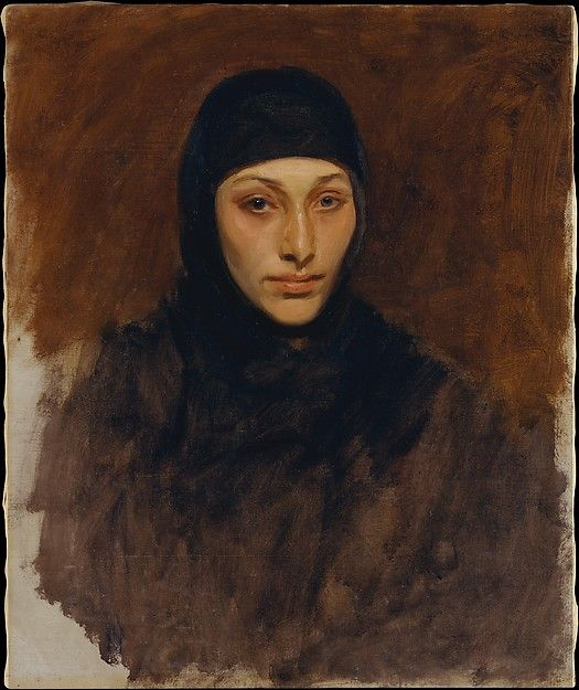 Egyptian Woman John Singer Sargent (American, Florence 1856–1925 London) Date: 1890–91 Medium: Oil on canvas