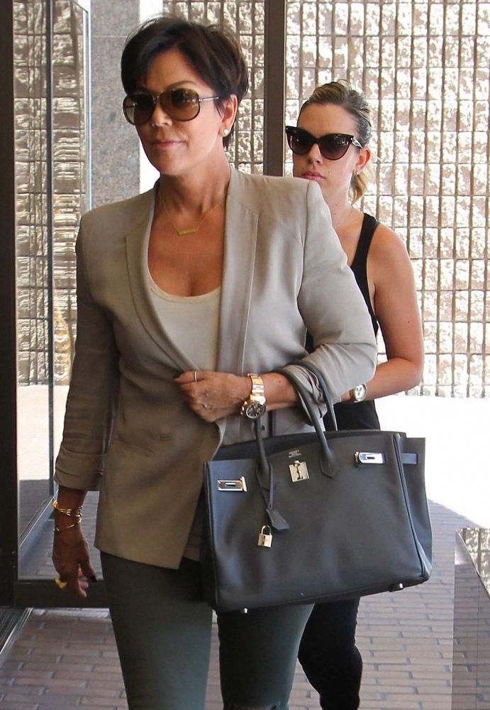 Kris-Jenner-Hermes-Graphite-Birkin  Hermeshandbags  8423f3edfe887
