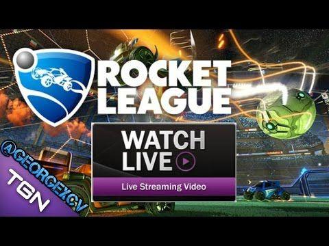 Rocket League LIVE Español @georgexcv #Streams #juegos #twitch #GAMEPLAY