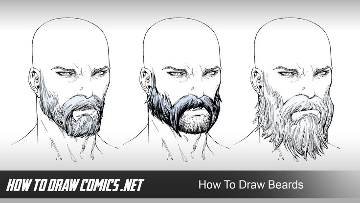 Just in case you missed it... https://youtu.be/Qx7srnqamRA  Over the course of this 2 hour, in-depth Comic Art lesson - I'll show you my step by step approach to drafting, drawing and rendering three different beards.  You'll learn the entire process for defining your beards as I show you how to render each clump of facial hair to achieve a layered effect that describes them with mass and volume.  I'll also reveal how the advanced principles of rendering come into play when creating a…