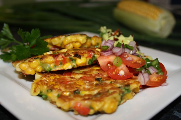 Easy corn fritters | Savoury recipes | Pinterest