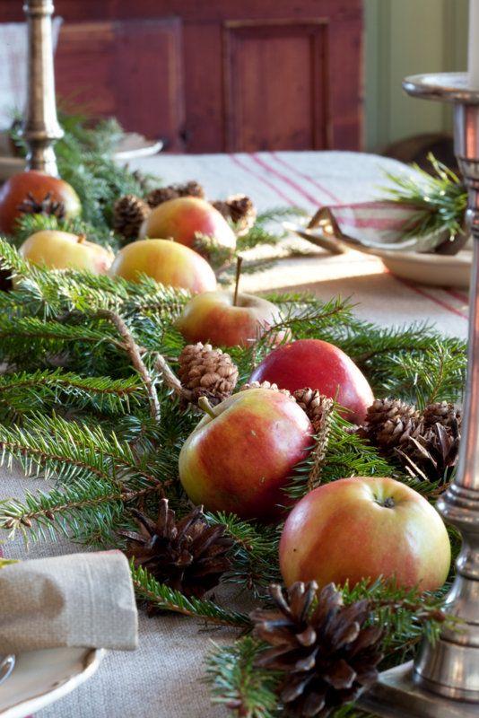 Livs Lyst: julepynt-inspirasjon 1: bordpynt