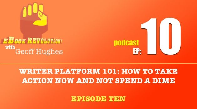 To sell eBooks you need a platform. To build a platform you need to take action. Listen to how you can start building yours for free in EP10 of the eBook Revolution Podcast. Tune in!