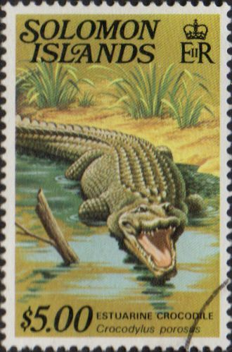 1979 Solomon Islands Reptiles SG 403A Fine Used SG 403A Scott 412 Other British Commonwealth Empire and Colonial stamps Here