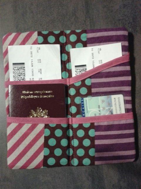 Un range passeport...