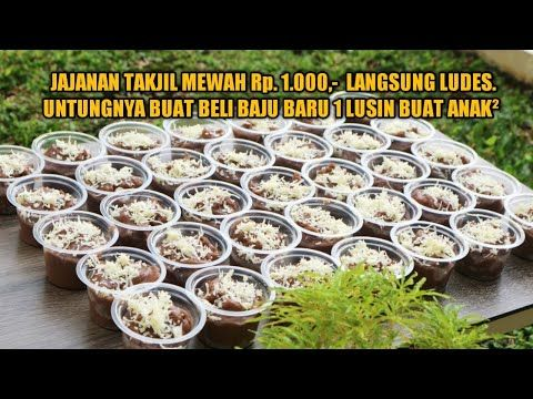 Ide Usaha Jajanan Yang Laris Manis Dan Sangat Menguntungkan Di Bulan Puasa Nagasari Drink Beng Beng Youtube Oreo Pudding Makanan Resep