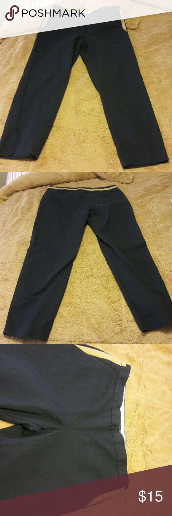 Navy blue british khaki pants British Khaki pants Pants Trousers