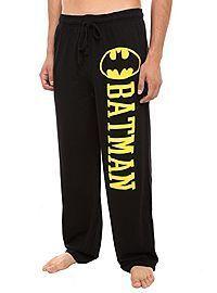 Super comfy Batman sweatpants (I've always thought guys had better sweats)