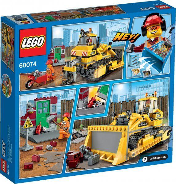 LEGO City 60074 Buldożer | MALL.PL