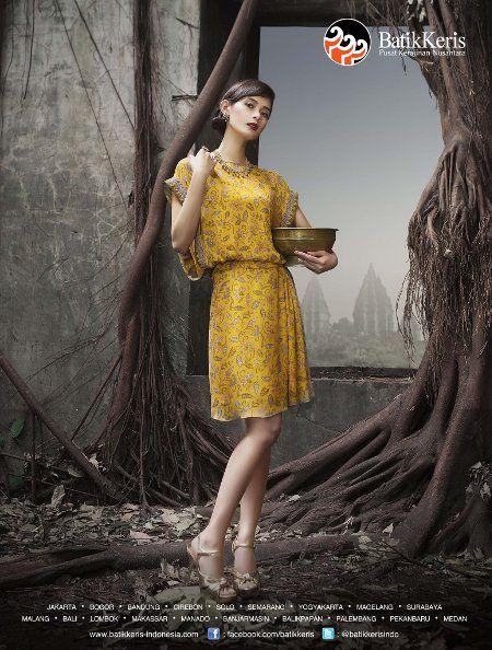 Model Baju Batik Keris Wanita Terbaru