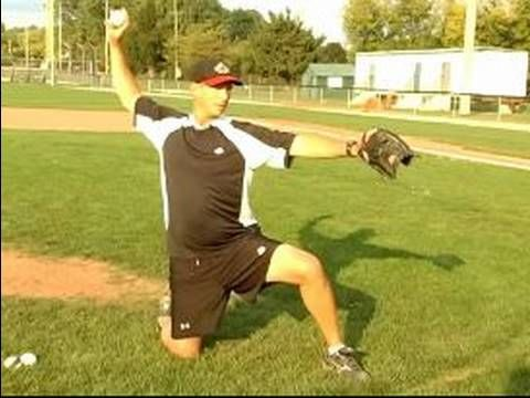 How to Pitch a Baseball : Body Position Exercises for Baseball Pitching