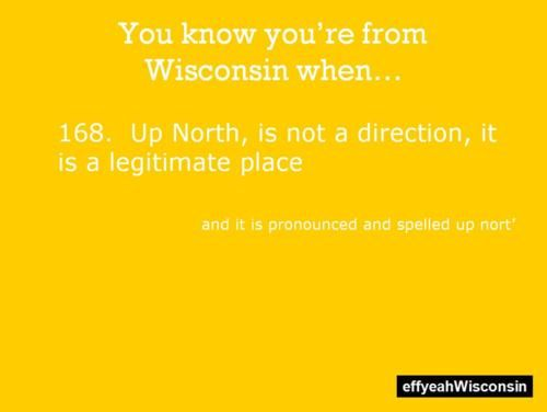 you know you're from wisconsin when