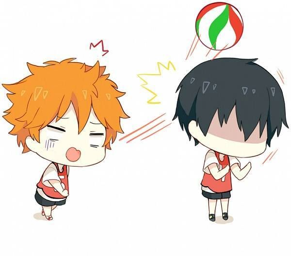 Haikyuu!! ~~ I think this is a scene from a nightmare. Who is dreaming, well.... :: Hinata and Kageyama
