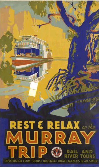Rest & relax on the Murray Trip, rail and river tours