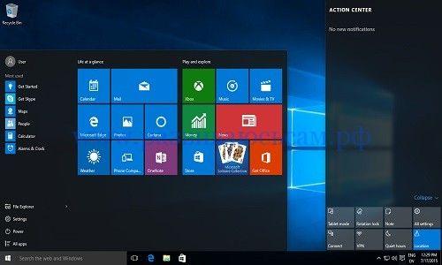 Выбор ОС Виндовс. Windows 10