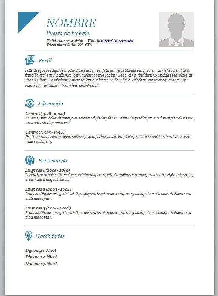 Argentina Para Completar Modelos De Curriculum Vitae Curriculum