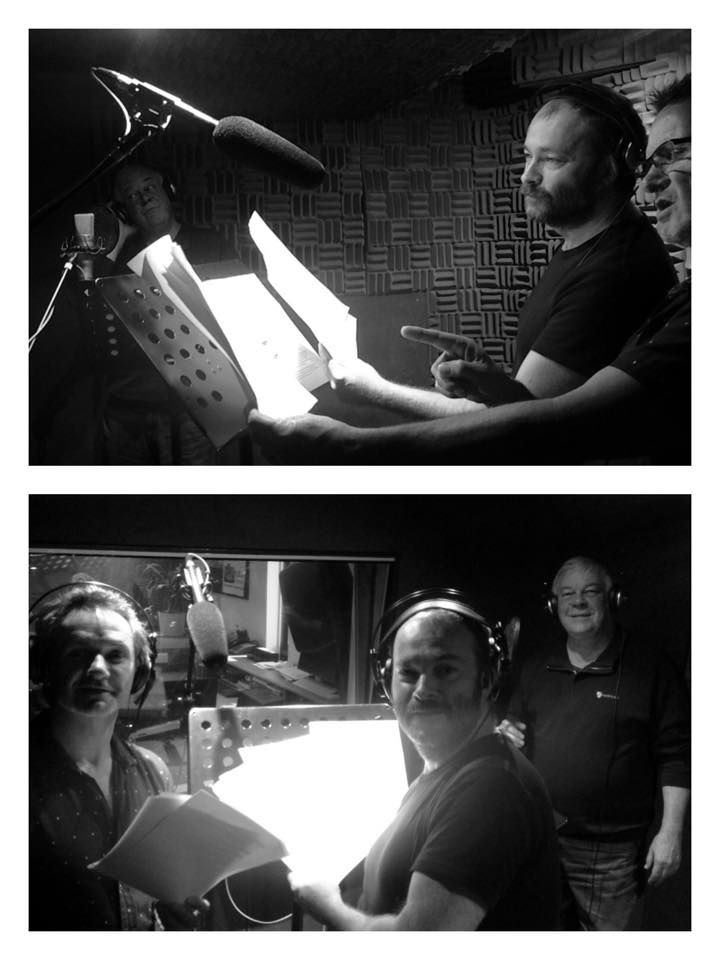 How many superstar voice artists can you fit in a voice booth? 3 apparently! Keith Scott, Rupert Degras and Ric Herbert RMK Management Pty Ltd #‎sound‬ ‪#‎audio‬ ‪#‎postproduction‬ ‪#‎mixing‬ ‪#‎voiceover‬ ‪#‎recording‬ ‪#‎studio‬ ‪#‎Sydney‬ #TSD