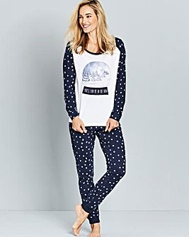 Pretty Secrets Snowglobe Pyjama Set