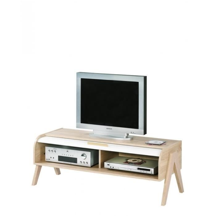 Meuble Tv Blanc Chez Conforama Meubleblanc Di 2020 Minimalis