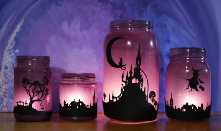 Learn how to turn plain jane jars into gorgeous luminaries that will look…