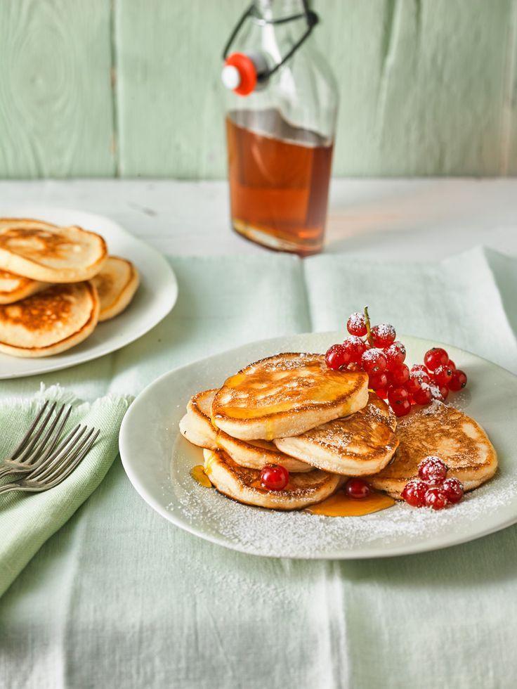 Pancakes mit Buttermilch – super luftig
