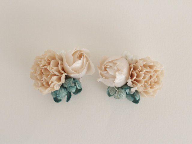 花束のイヤリング - hanae