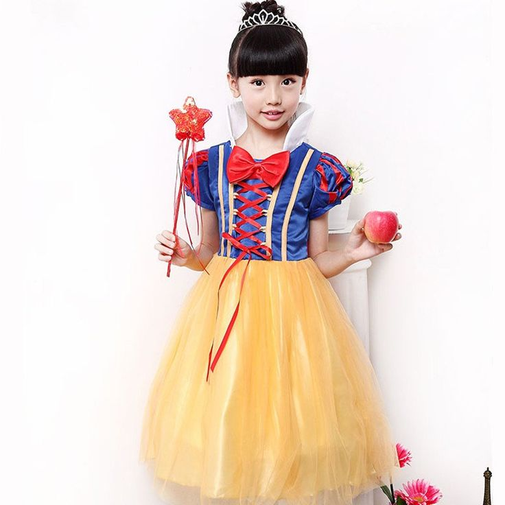 Snow White Princess Girls Dress