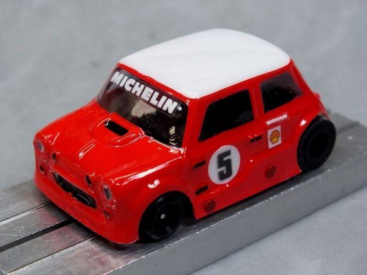 HO Slot Car Parts - HCS Mini Cooper - .010 Lexan Body Lot of 2 - MASK Kits - New