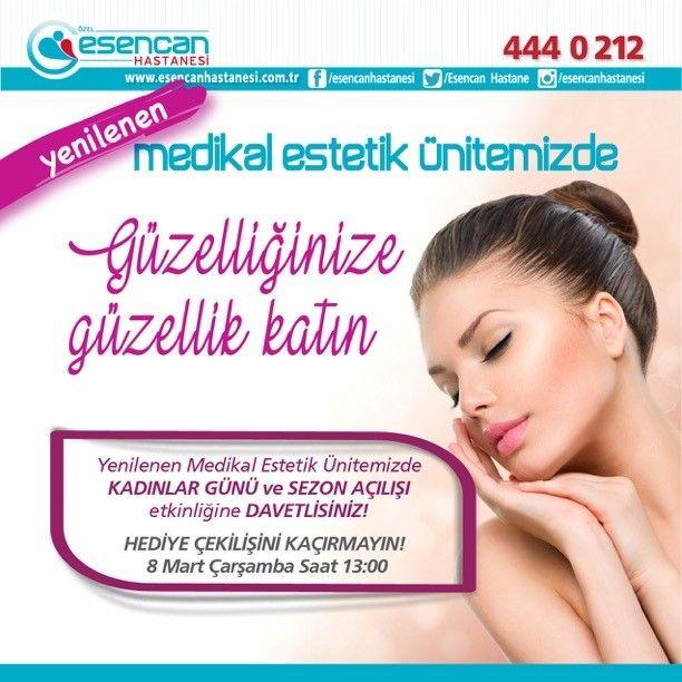 Yenilenen medikal estetik ünitemizde güzelliğinize güzellik katın!