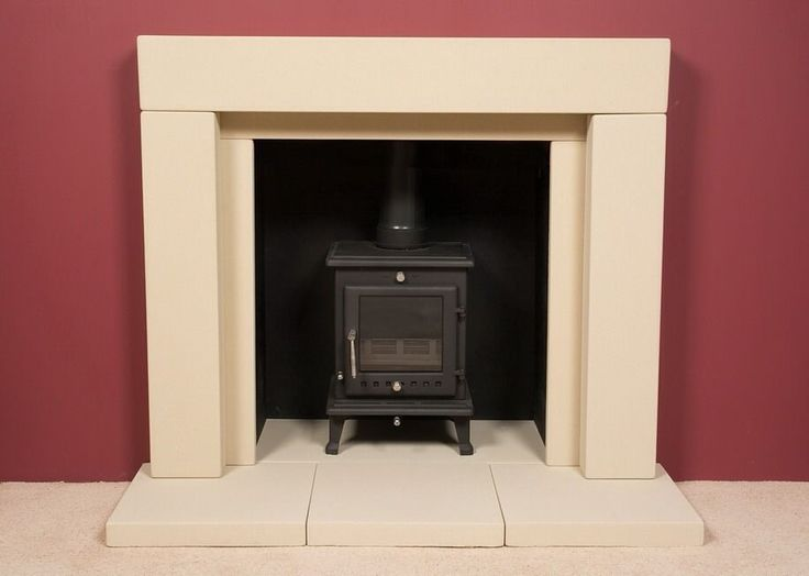 54  Stone Fireplace Suitable For Stove, Wood Burner Gas & Electric