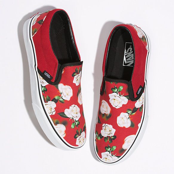 sneakers, Vans slip on shoes