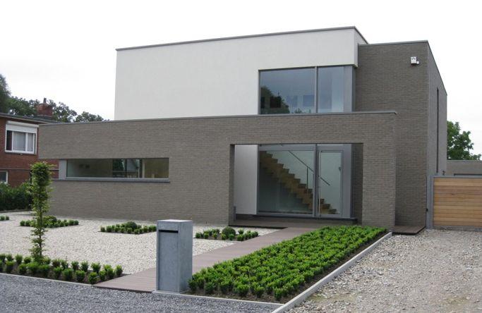 Brique de parement gris foncé - Platina