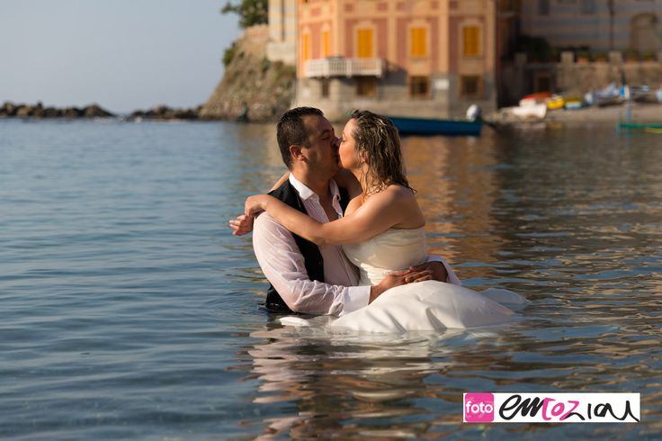 trash the dress in Baia del Silenzio a Sestri Levante