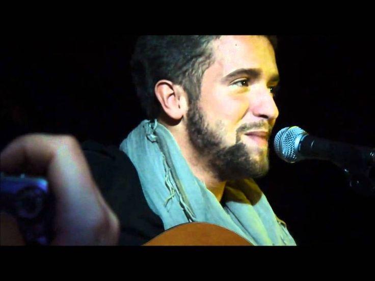 Pablo Alboran se emociona cantando Solamente Tu