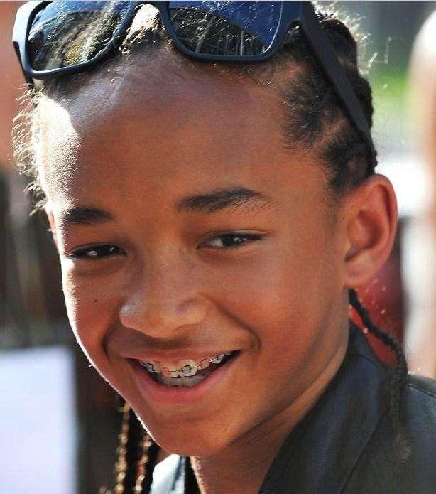 Jaden Smith: Celebrities with Braces