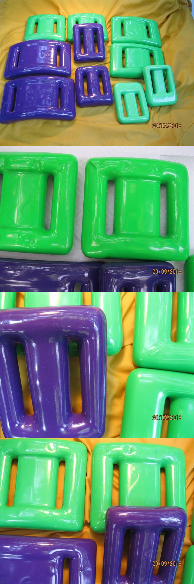 Weight Belts 74004: Scuba Dive Weights Coated Neon Green And Purple For Bcd Or Belt 10 Pieces 30+ Lbs BUY IT NOW ONLY: $119.99