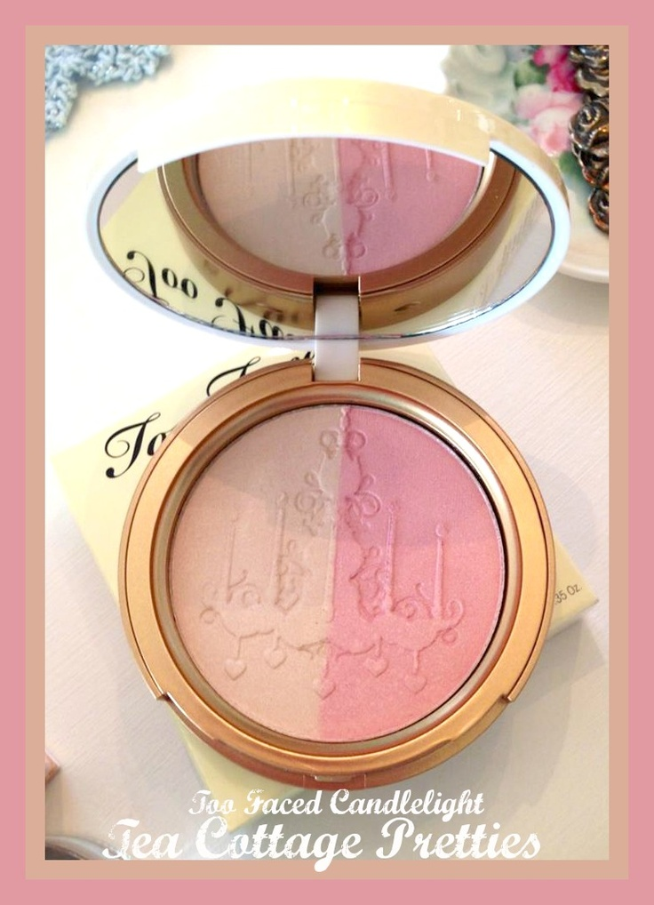 Too Faced Candlelight...perfect blush/highlighter combo